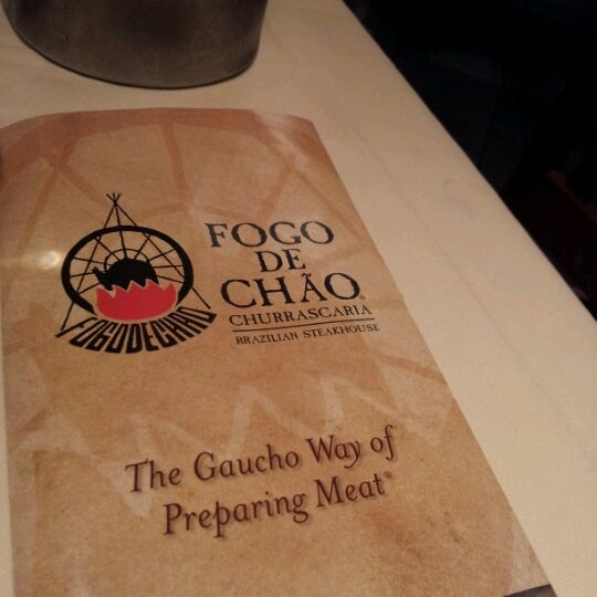 Photo taken at Fogo de Chão Churrascaria by Kevin W. on 7/30/2012