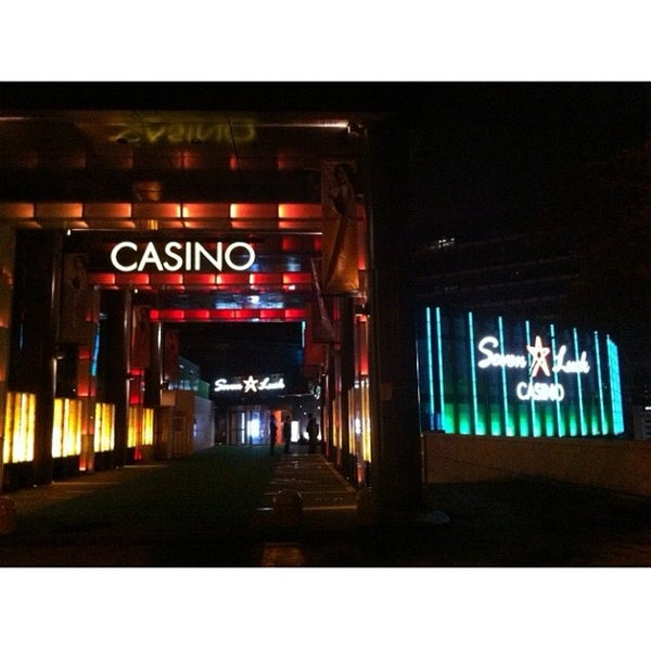 Photo taken at Seven Luck Casino by Minyoung K. on 5/19/2012