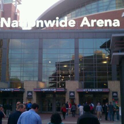 Photo taken at Nationwide Arena by Skeeter B. on 3/28/2012