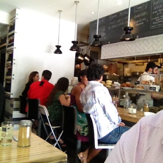 Photo taken at Mile End Delicatessen by Bradley F. on 5/19/2012