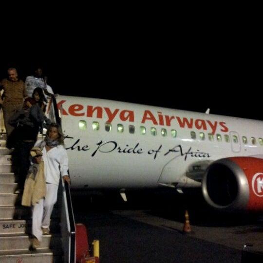 Photo taken at Jomo Kenyatta International Airport (NBO) by Felice G. on 1/10/2012