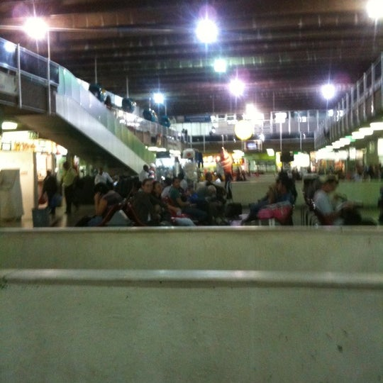 Photo taken at Terminal Rodoviário Governador Israel Pinheiro by Nick B. on 7/18/2011