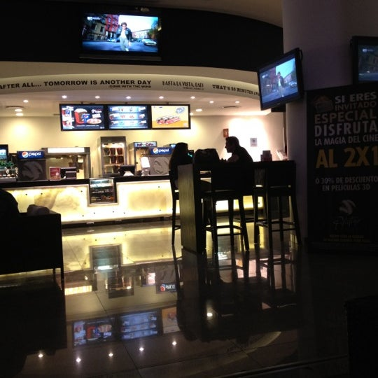 Photo taken at Cinemex by Ratapiedra R. on 4/29/2012