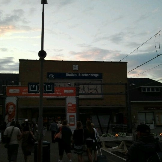 Photo taken at Station Blankenberge by Maarten L. on 8/21/2012