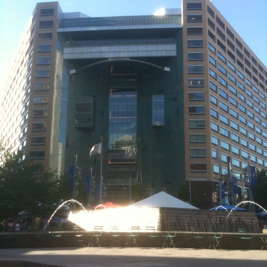 Photo taken at Campus Martius Park by Michael S. on 7/15/2011