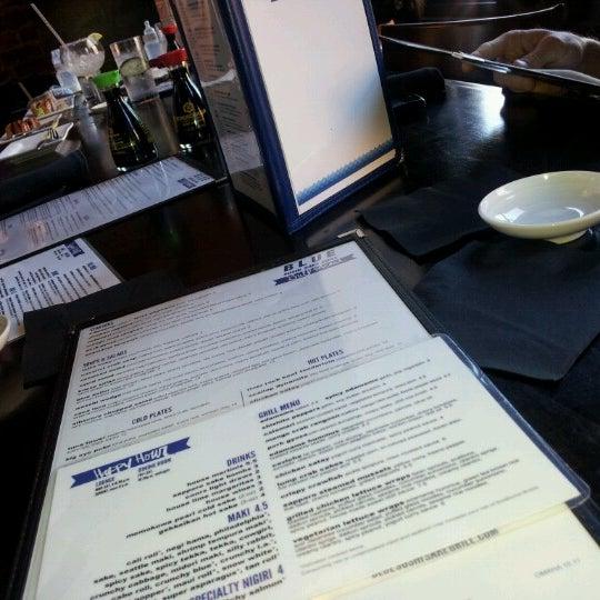 Photo taken at Blue Sushi Sake Grill by Jenny Lynn L. on 8/5/2012