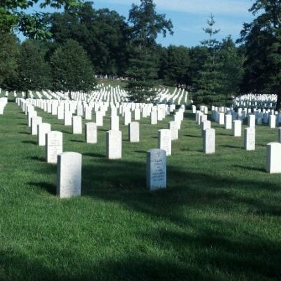 Photo taken at Arlington National Cemetery by Aaron A. on 6/3/2012