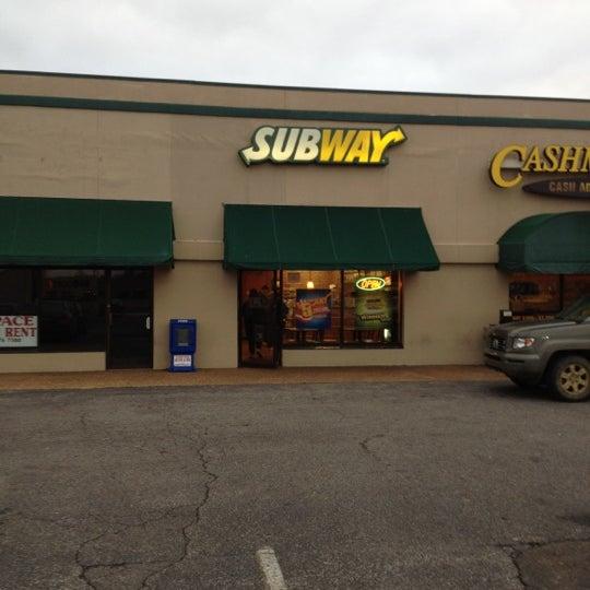Subway Sandwich Place In Dyersburg