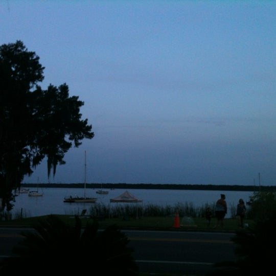 Photo taken at Palatka Riverfront by Teri on 7/5/2012