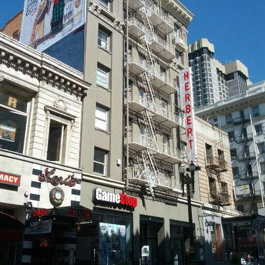 herbert hotel downtown san francisco union square san. Black Bedroom Furniture Sets. Home Design Ideas