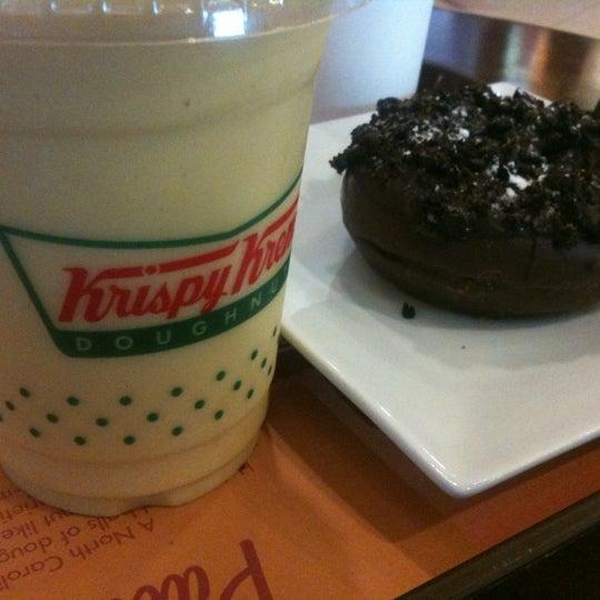 Photo taken at Krispy Kreme by sam l. on 3/5/2012