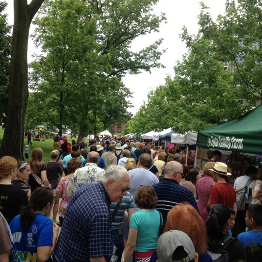 Photo taken at Dane County Farmers' Market by Matt H. on 5/26/2012
