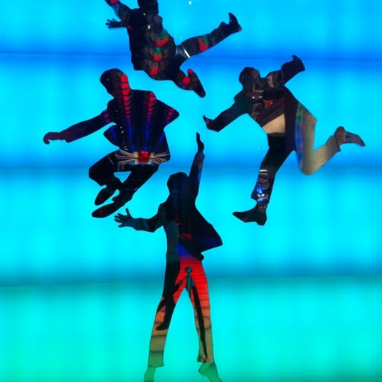 Photo taken at The Beatles LOVE (Cirque Du Soleil) by luispipe on 3/17/2012