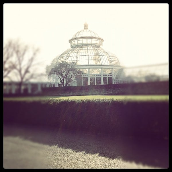Photo taken at Enid A. Haupt Conservatory by Nicolette .. on 11/19/2011
