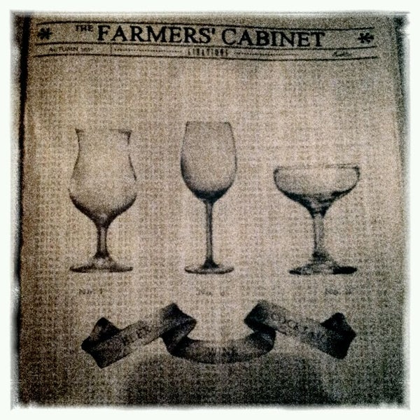 Photo taken at The Farmers' Cabinet by Blake C. on 12/16/2011