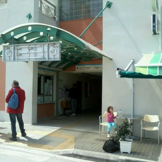 Photo taken at Σταθμός Προαστιακού Κιάτο (Kiato Suburban Rail Station) by Massimo C. on 4/16/2012
