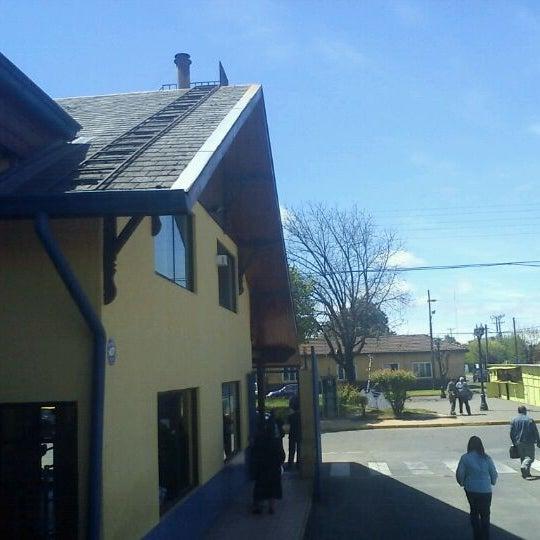 Photo taken at Terminal Buses Bio Bio Victoria by Eduardo I. on 10/20/2011