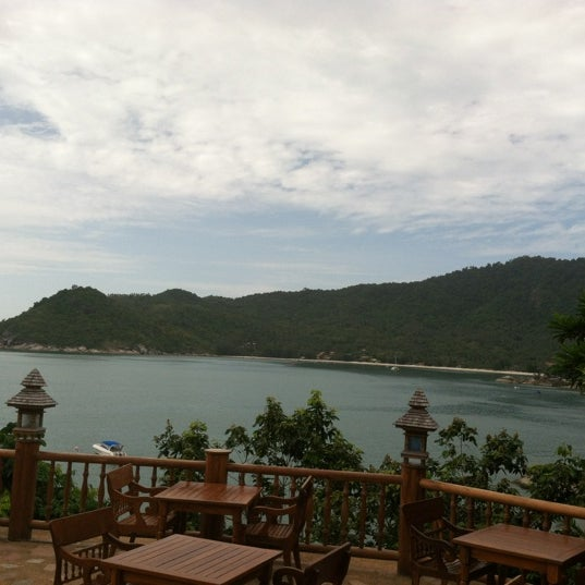 Photo taken at Santhiya Resort And Spa Koh Phangan by Nick A. on 6/10/2012