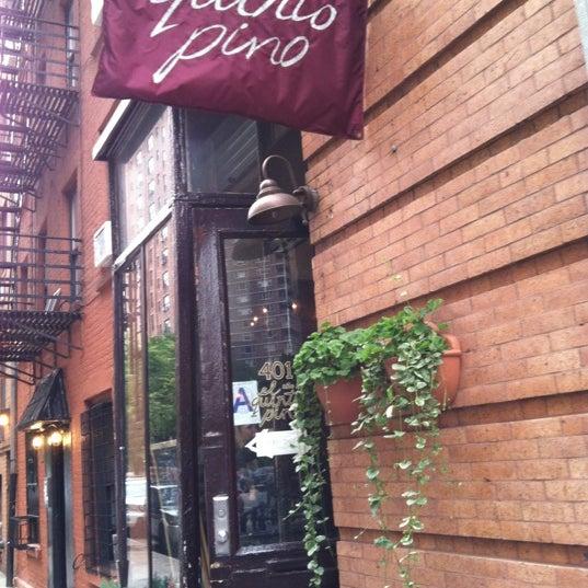 El Quinto Pino Wine Bar In New York