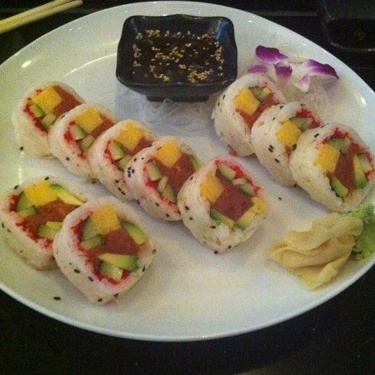 Photo taken at Blu Sushi by Yoanna on 10/27/2011