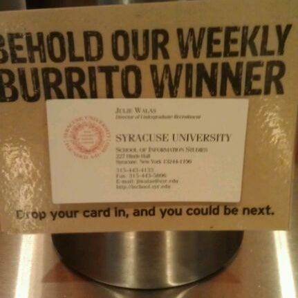Photo taken at Chipotle Mexican Grill by Julie W. on 11/8/2011