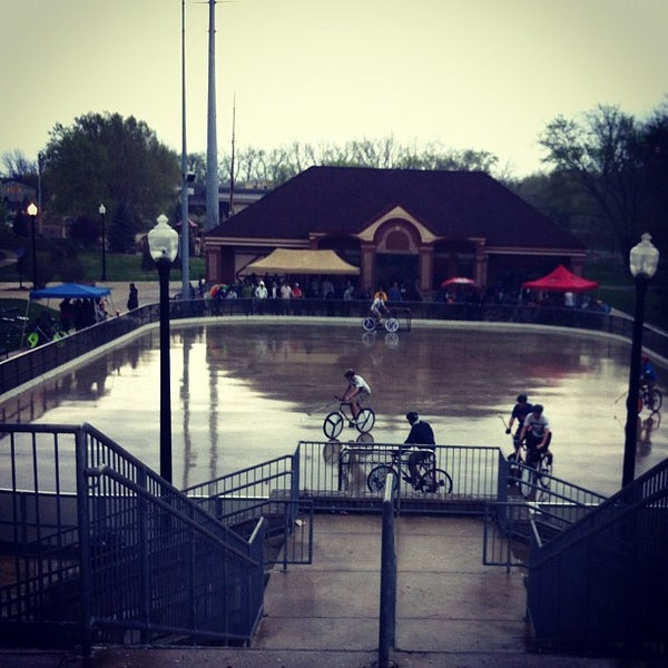 Photo taken at John T. Myers Pedestrian Bridge by Aaron M. on 3/24/2012