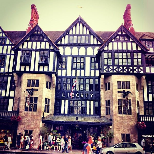 Photo taken at Liberty of London by Arnaud M. on 8/18/2012