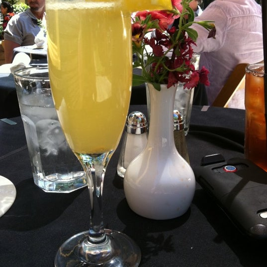 Photo taken at Atchafalaya Restaurant by Gretchen A. on 3/25/2012