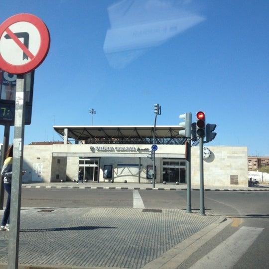 Photo taken at Estació de Tren - València-Cabanyal by José E. on 4/16/2012