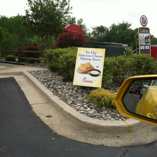Photo taken at Chick-fil-A by Adam T. on 4/19/2012