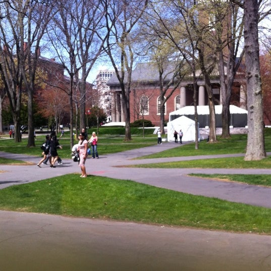 Photo taken at Widener Library by Brooke R. on 4/14/2012