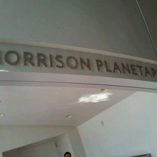 Photo taken at Morrison Planetarium by Rjahja C. on 4/5/2012