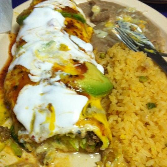 Photo taken at Janitzio Burrito by Chelsea H. on 6/2/2012