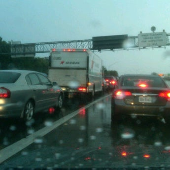 Photo taken at HRBT by Flash D. on 9/23/2011