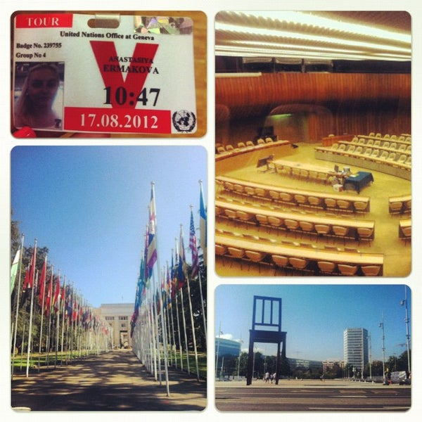 Photo taken at Palais des Nations by A. on 8/17/2012