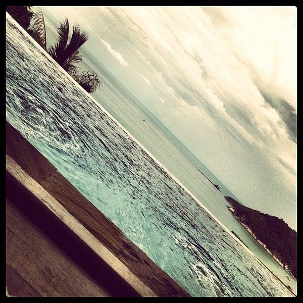 Photo taken at Santhiya Resort And Spa Koh Phangan by LAZERZBEAM L. on 5/6/2012