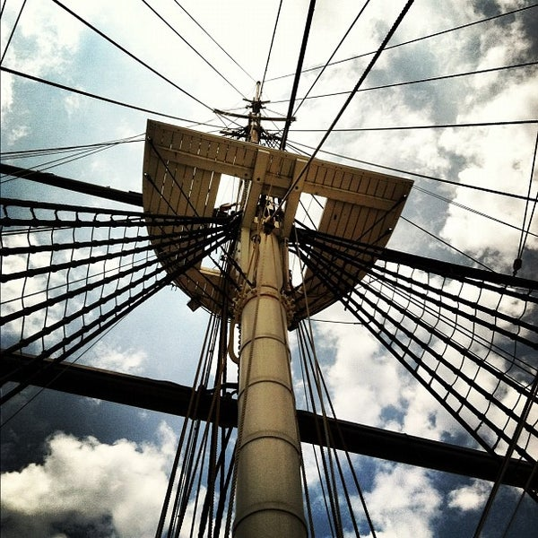 Photo taken at USS Constellation by Ricardo C. on 6/22/2012