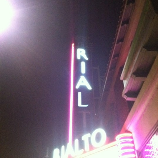 Photo taken at The Rialto Theatre by Monica S. on 3/31/2012