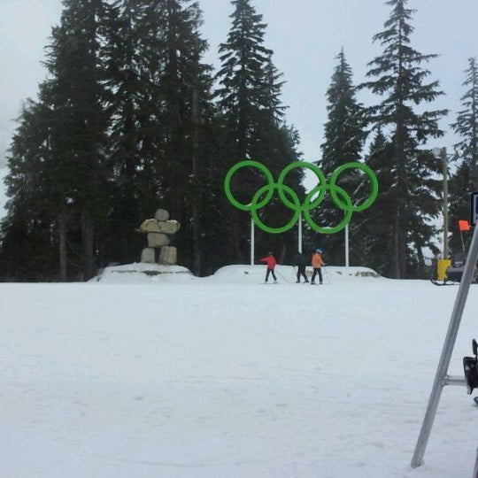 Photo taken at Cypress Mountain Ski Area by Russ A. on 12/8/2011