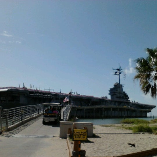 Photo taken at USS Lexington Museum On The Bay by Alicia A. on 7/6/2012