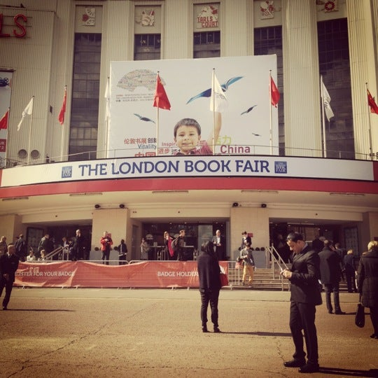Photo taken at Earls Court Exhibition Centre by Laura T. on 4/16/2012