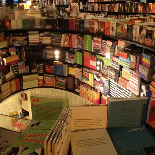 Photo taken at Livraria da Vila by Sarah S. on 4/1/2012