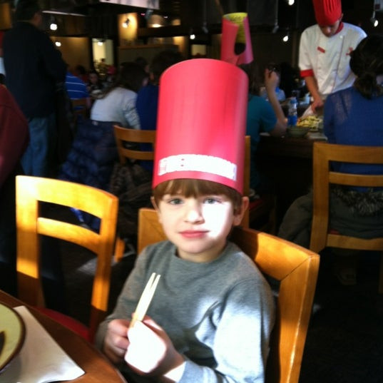 Photo taken at Benihana by Justina M. on 2/20/2012