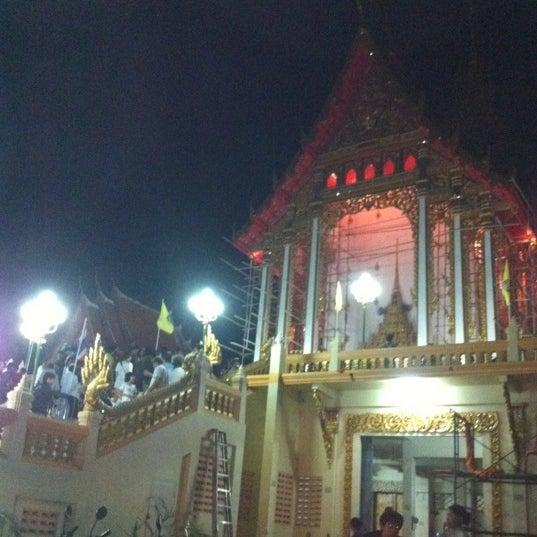 Photo taken at วัดดอนตูม บ้านโป่ง by Benn on 6/4/2012