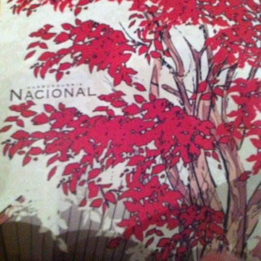 Photo taken at Hamburgueria Nacional by Pedro B. on 2/16/2012