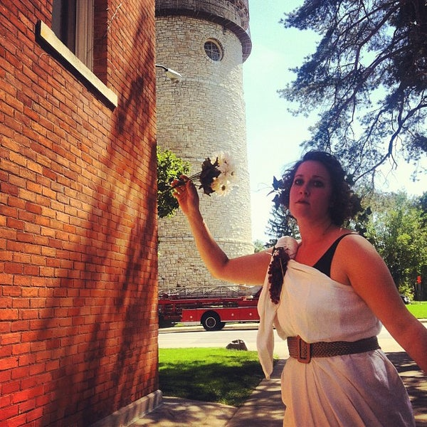 Photo taken at Ypsilanti Water Tower by iSPYMagazine on 8/22/2012