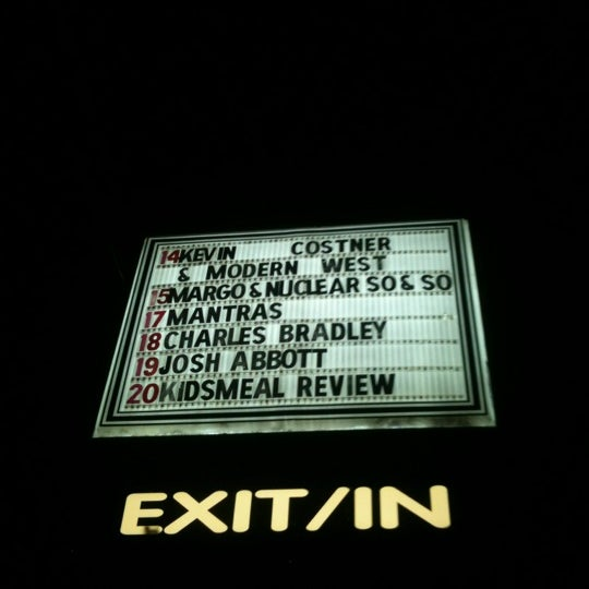Photo taken at Exit/In by Jim on 4/16/2012