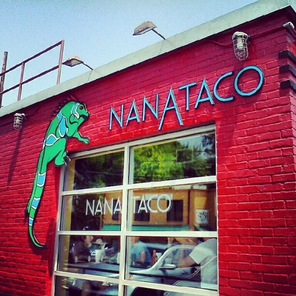 Photo taken at NanaTaco by Justin B. on 8/2/2012