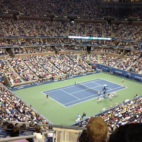 Photo taken at 2014 US Open Tennis Championships by Pierre D. on 9/3/2012