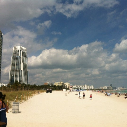 Photo taken at South Pointe Pier by Charlie M. on 2/19/2012